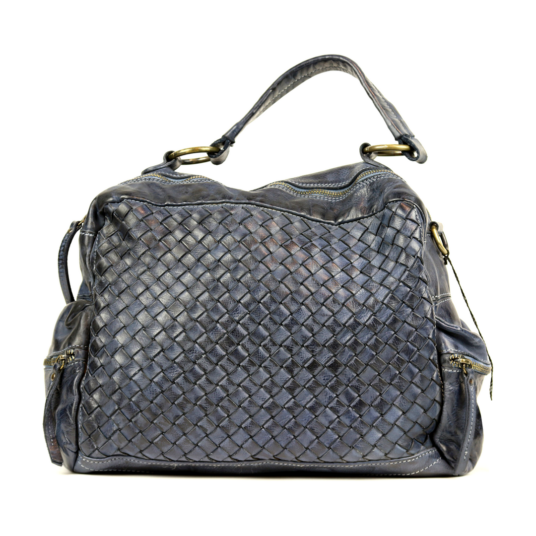 DILETTA Hand Bag Woven Dark Grey