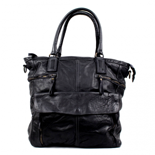 CRISTINA Shopper Black