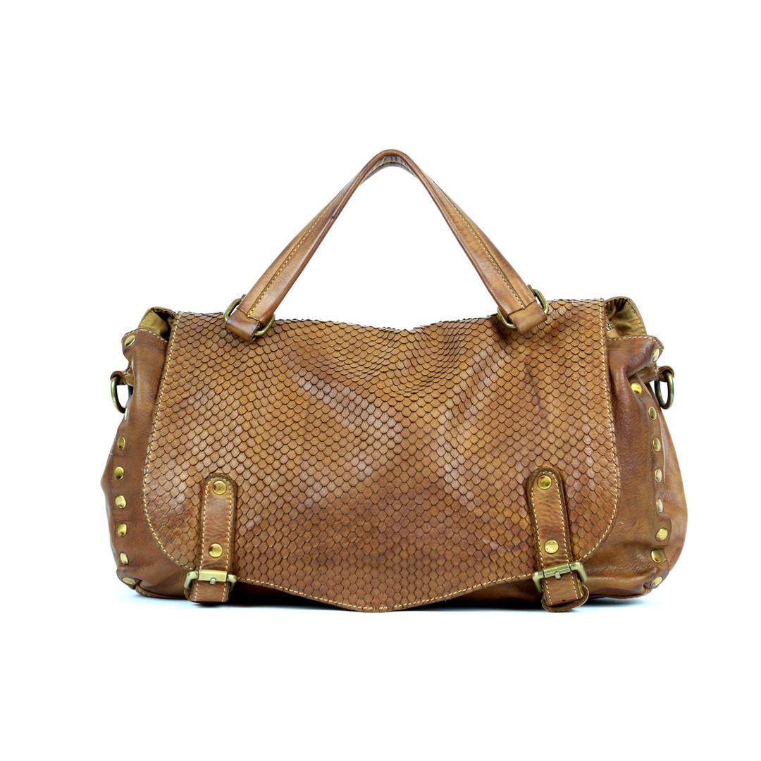MARISA Satchel Bag Light Brown