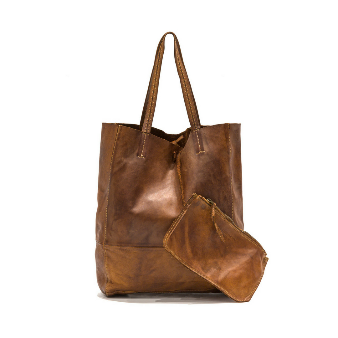 LEILA Shopper Bag Tan