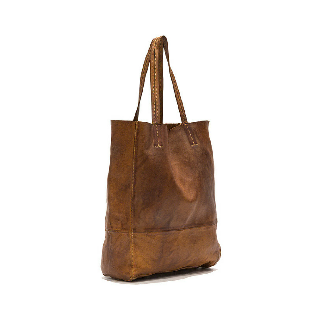 Leila Smooth Leather Shopper With Pouch