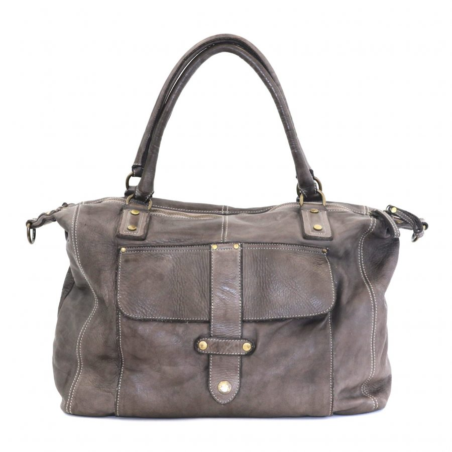 ADELE Satchel Style Bag Taupe