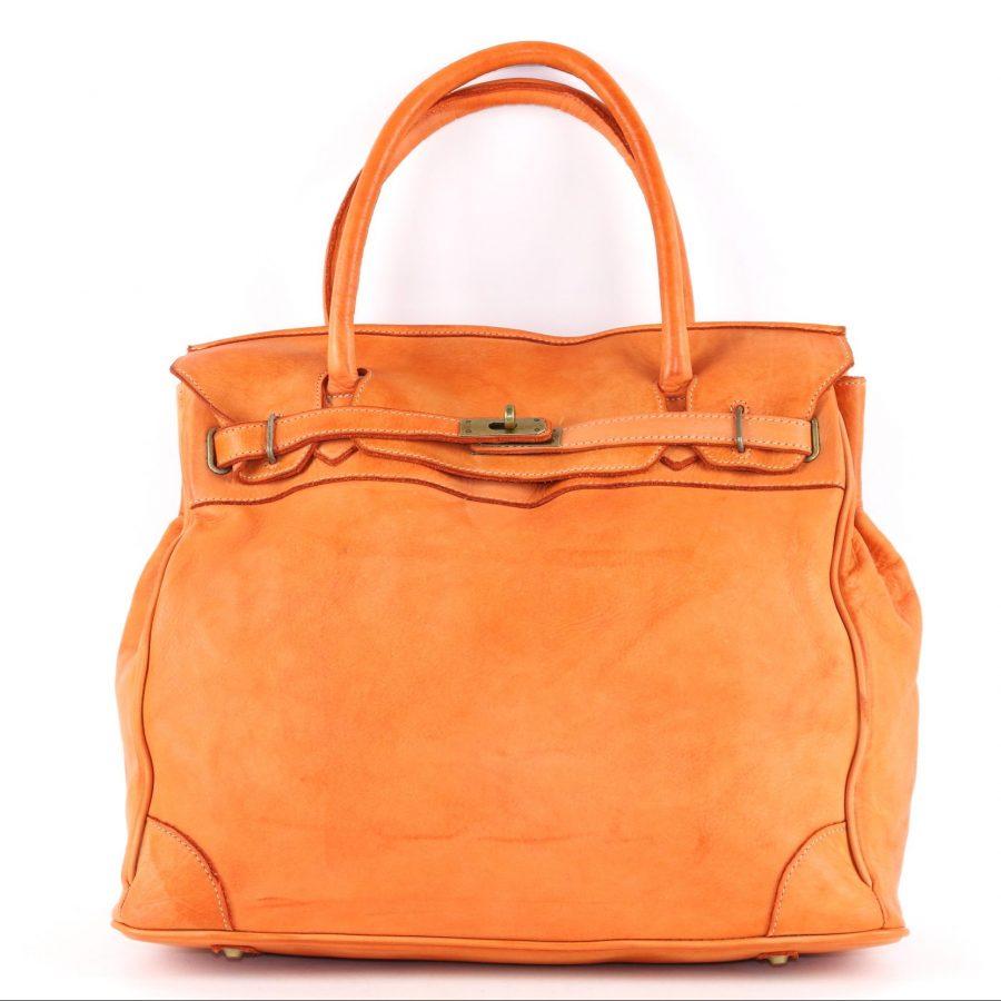 ALICIA Structured Bag Orange
