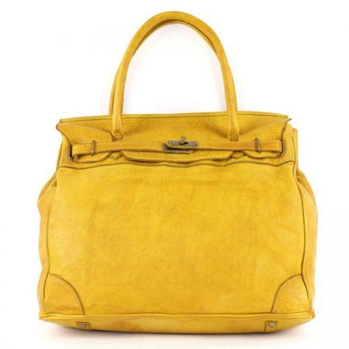 ALICIA Structured Bag Mustard
