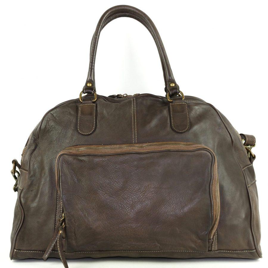 ALMA Travel Bag Dark Brown