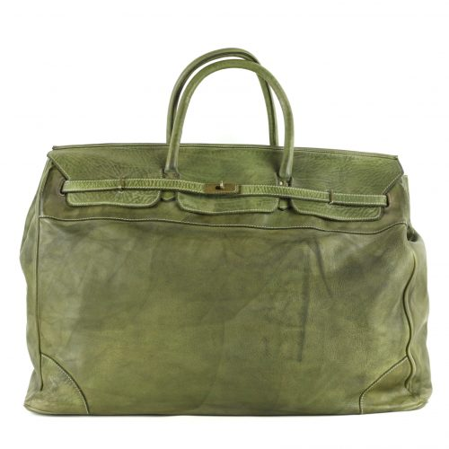 ALICE Large Tote-shaped Luggage Bag Army Green