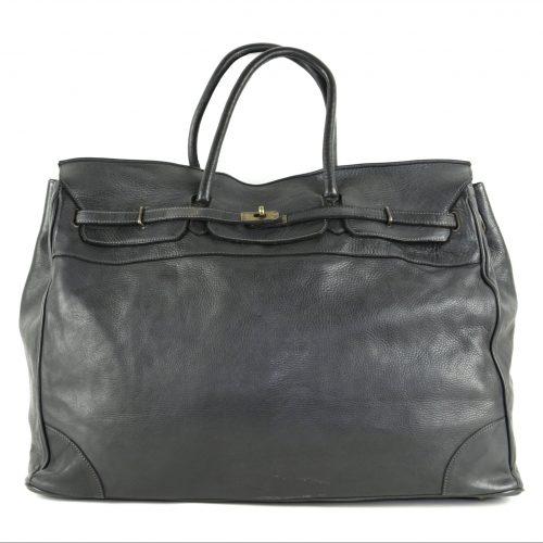 ALICE Large Tote-shaped Luggage Bag Black