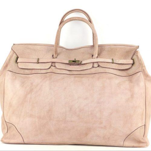 ALICE Large Tote-shaped Luggage Bag Blush