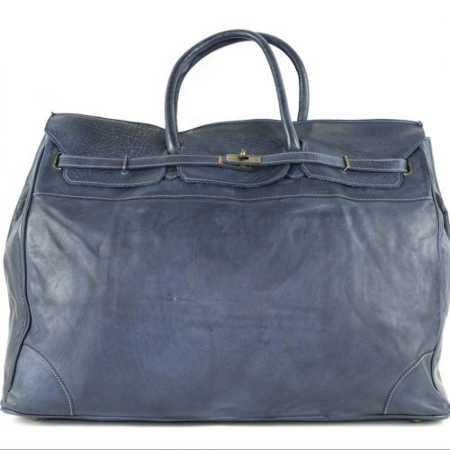 ALICE Large Tote-shaped Luggage Bag Navy