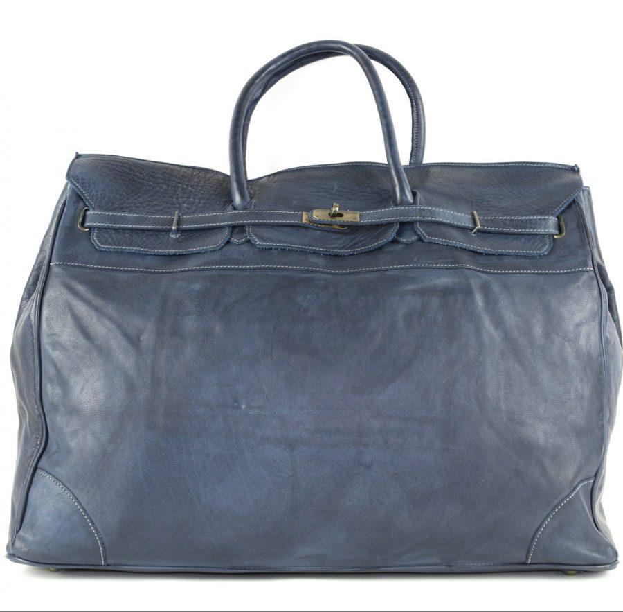 ALICE Large Tote-shaped Luggage Bag Navy