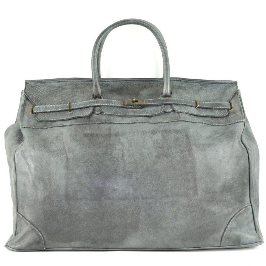 ALICE Extra Large Tote-shaped Luggage Bag Dark Grey