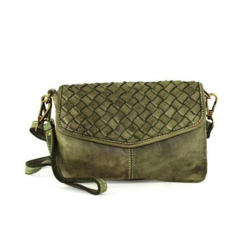 SELENE Wristlet Bag Olive