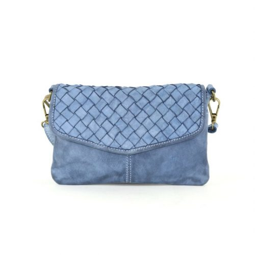 SELENE Wristlet Bag Denim