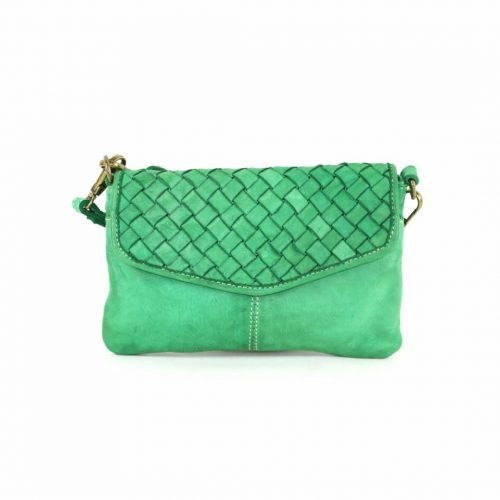SELENE Wristlet Bag Green