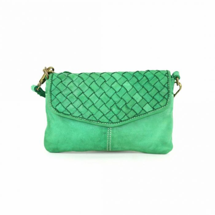 small leather purse selene wristlet bag
