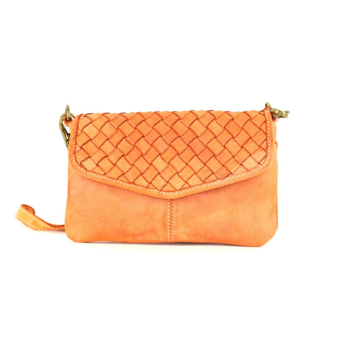 SELENE Wristlet Bag Orange