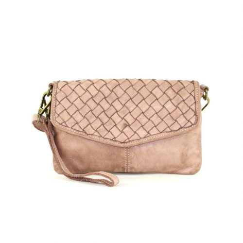 SELENE Wristlet Bag Blush