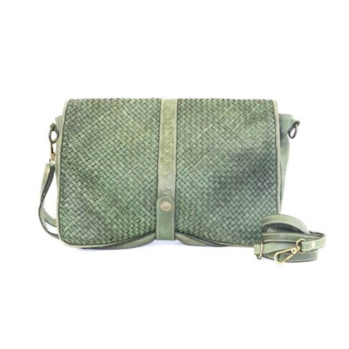 MARTA Messenger Bag Woven Army