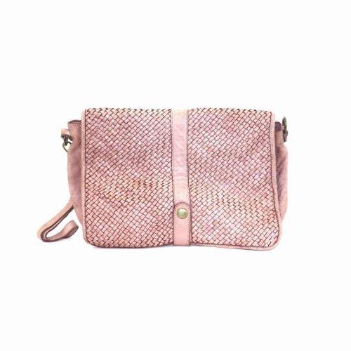 MARTA Messenger Bag Woven Blush