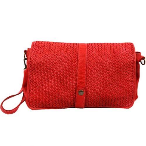 MARTA Messenger Bag Woven Red