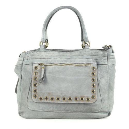 FEDERICA Shoulder Bag Light Grey