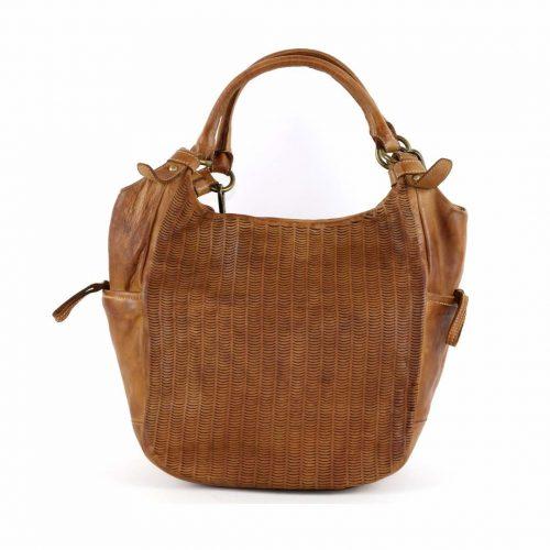 ILARIA Hobo Bag Laser Detail Tan