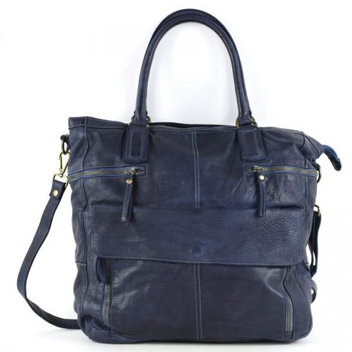 CRISTINA Shopper Navy
