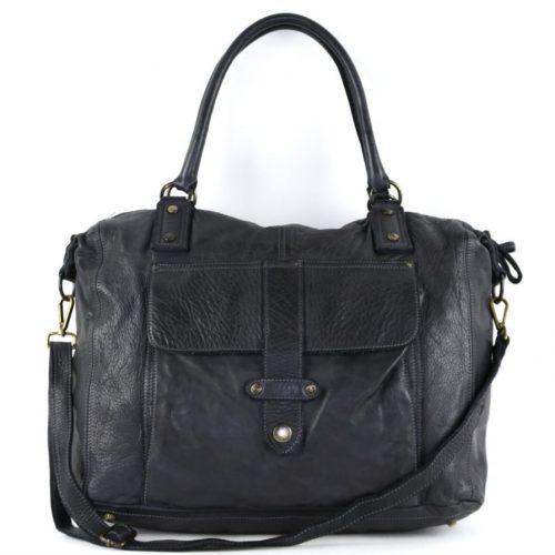 ADELE Satchel Style Bag Black