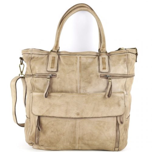 CRISTINA Shopper Light Brown