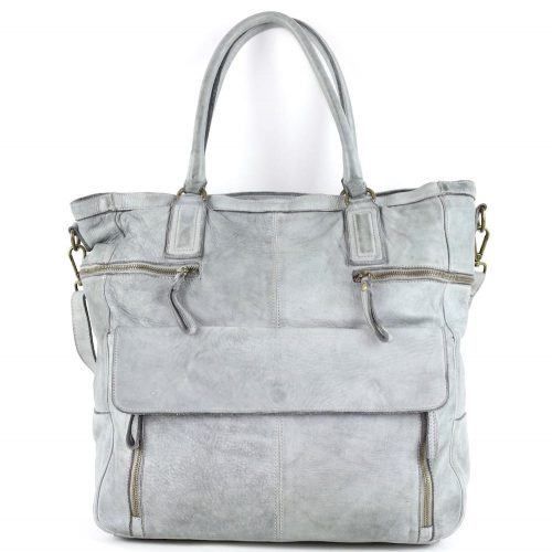 CRISTINA Shopper Light Grey