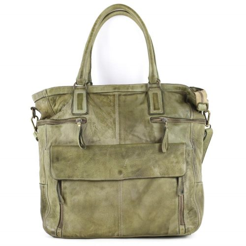CRISTINA Shopper Army Green