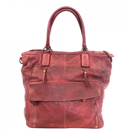 CRISTINA Shopper Red
