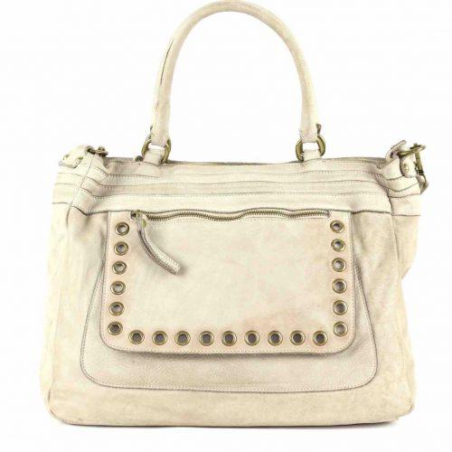 FEDERICA Shoulder Bag Cream