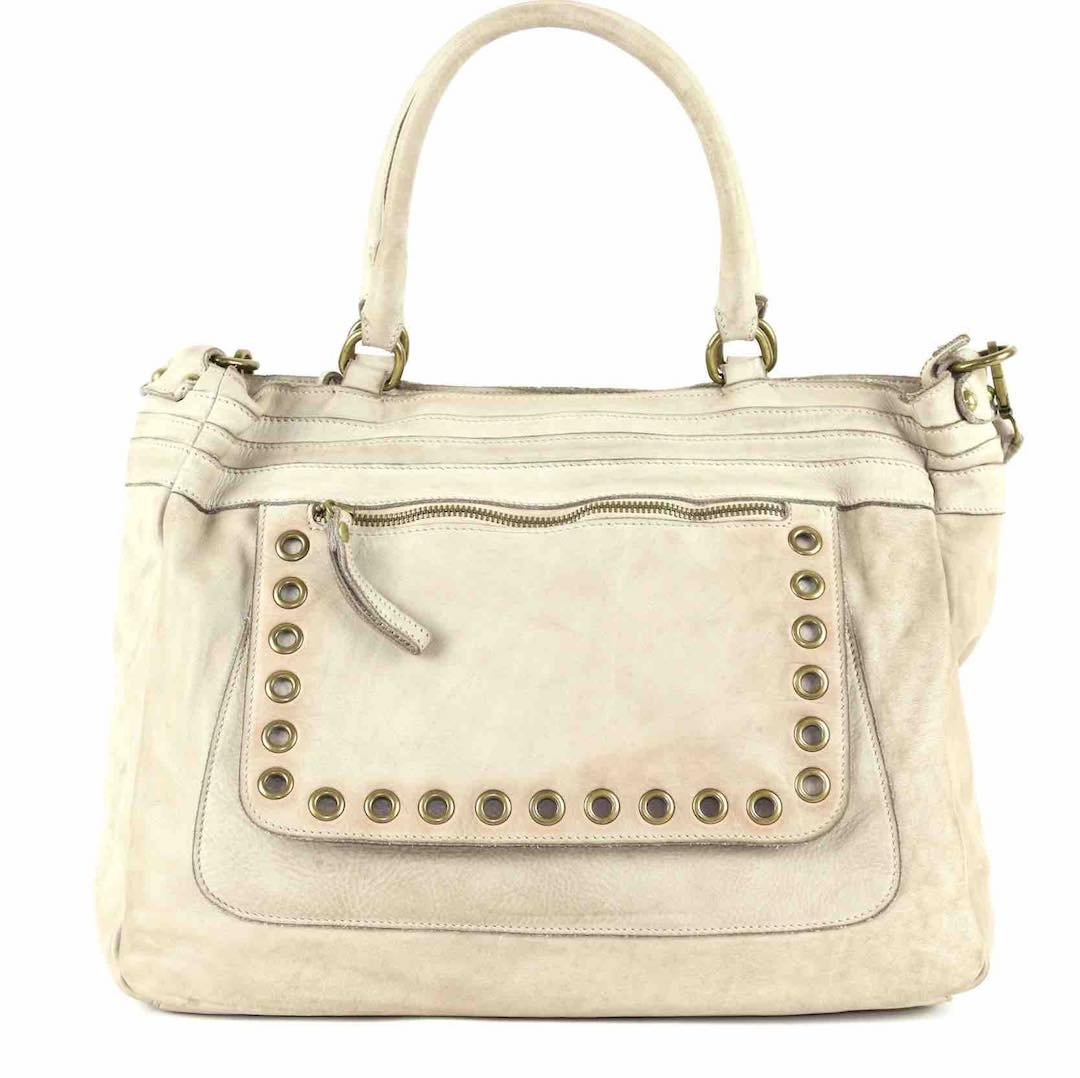 FEDERICA Shoulder Bag Cream