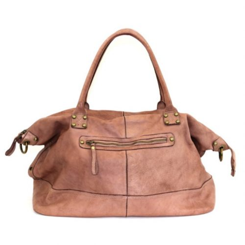 FIONA Large Duffle Weekender Travel Bag Blush
