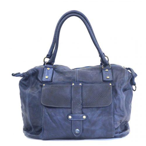 ADELE Satchel Style Bag Denim