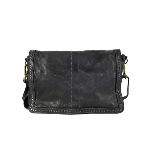 SILVIA Messenger Bag Black