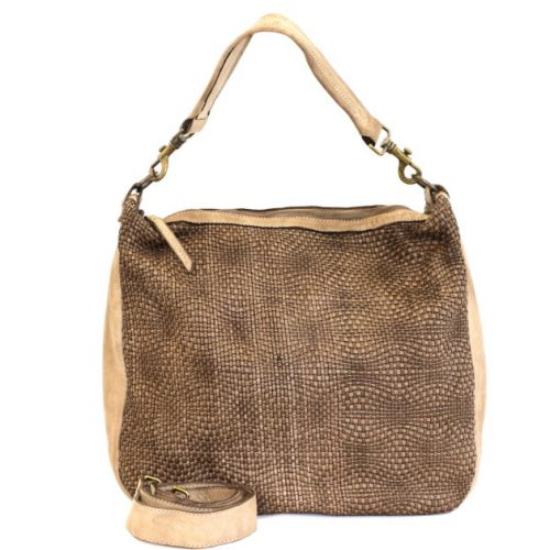 MELANIA Shoulder Bag Beige