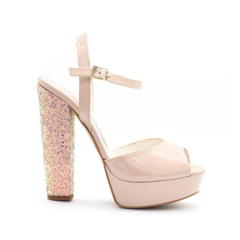 Terry De Havilland Coco Platform Sandals In Melba