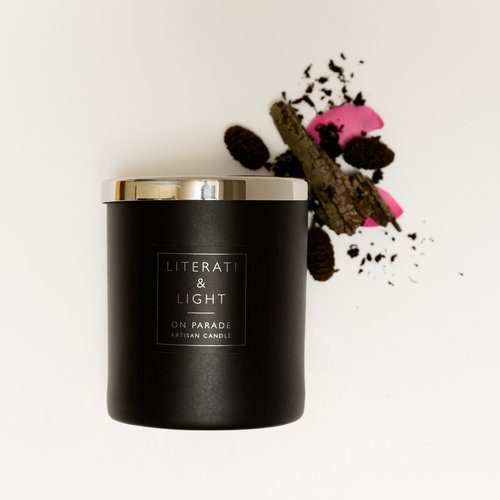 Leather Scented Luxury Candle