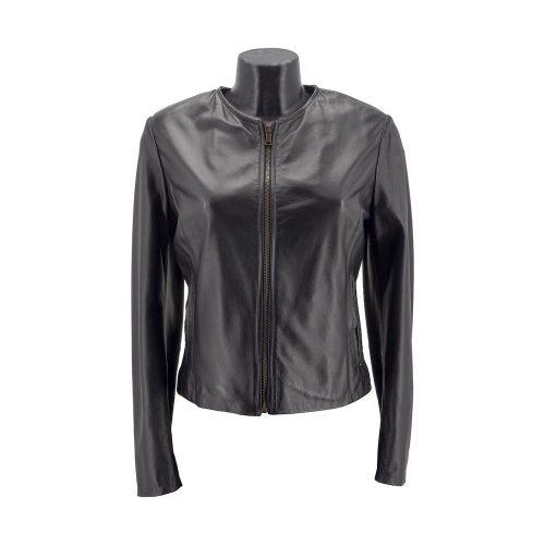 Black Classic Leather Jacket
