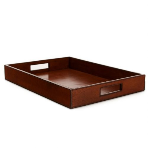 Leather Tray – Oblong