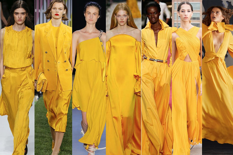 aspen gold - colour trends spring/summer 2019