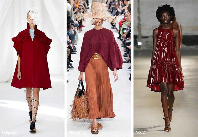 jester red - colour trends spring/summer 2019