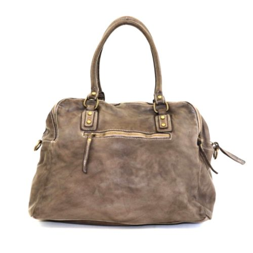 ISOTTA Bowling Bag Dark Taupe