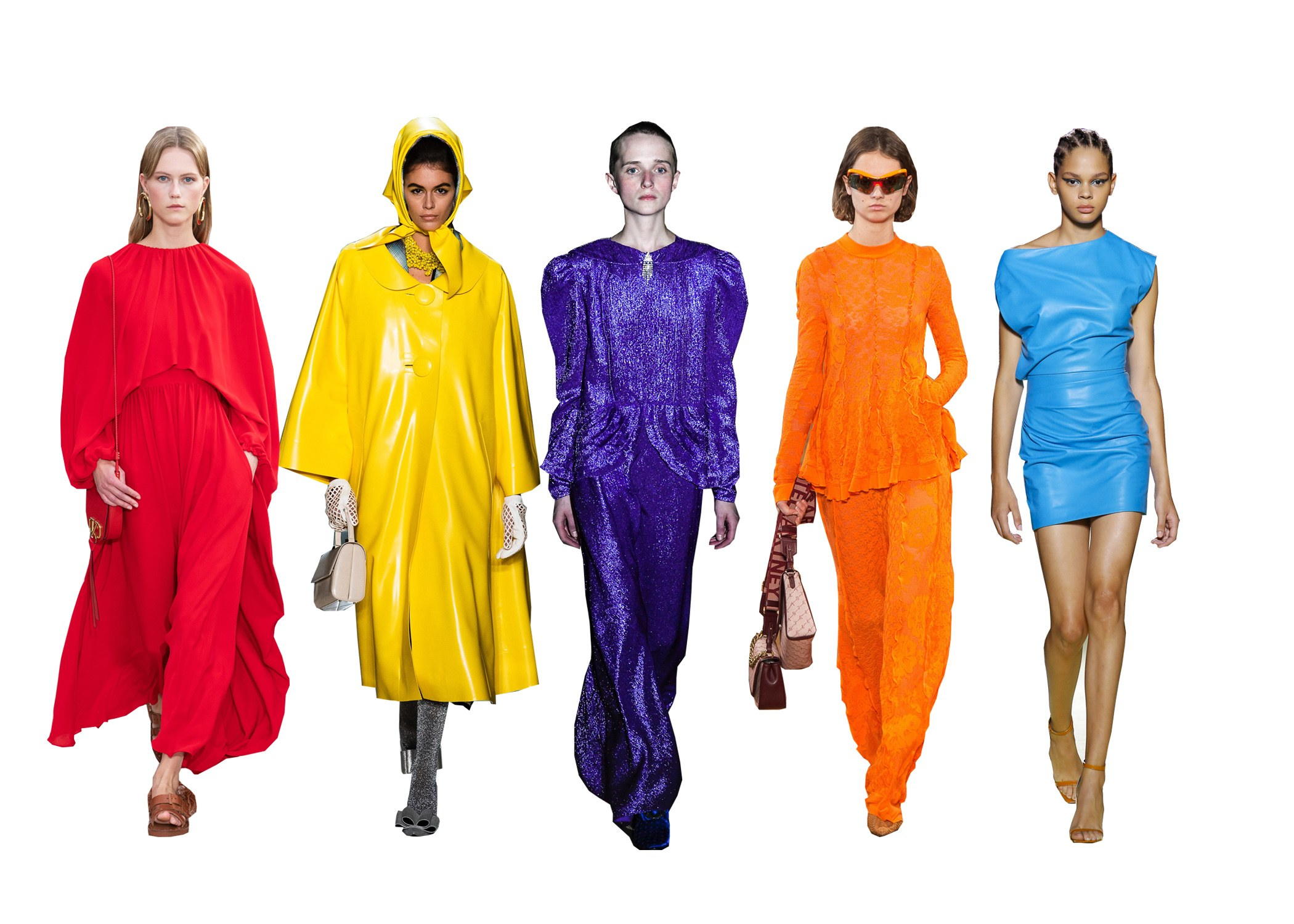 colour trends spring/summer 2019