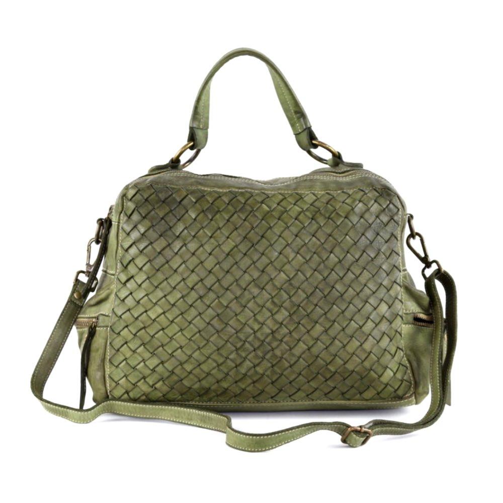 DILETTA Hand Bag Woven Army