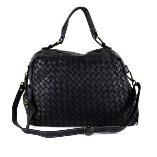 DILETTA Hand Bag Woven Black