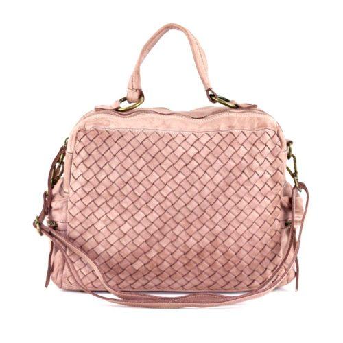 DILETTA Hand Bag Woven Blush