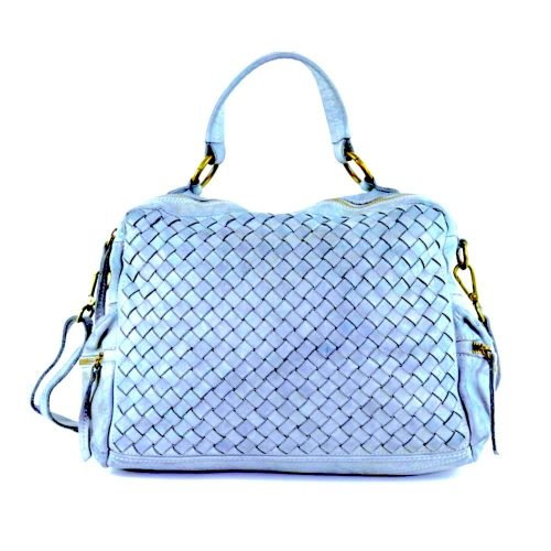 DILETTA Hand Bag Woven Denim